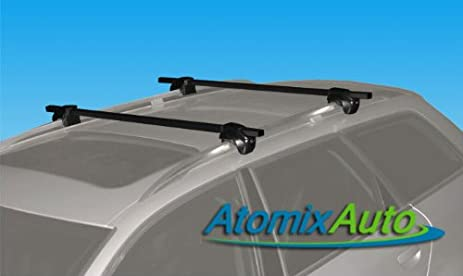 2007 2011 Ford Escape Roof Rack Crossbars With Locks