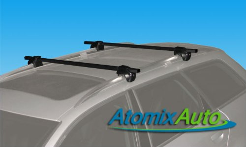 2007-2011 Ford Escape Roof Rack Crossbars With Locks (2007 Ford Escape Luggage Rack compare prices)