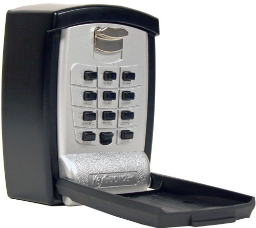 KeyGuard SL-590 Punch Button Key Storage Wall Mount Lock - Cover Case Phone Faceplate Metal