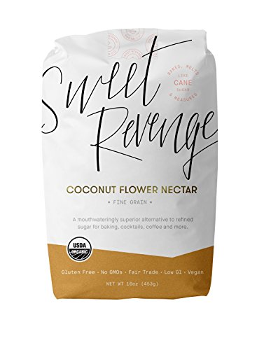 Price comparison product image Sweet Revenge Organic Fine Grain Coconut Palm Sugar,  16-Ounce