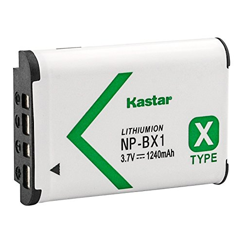 Kastar Battery 1 Pack for Sony NP-BX1 and Sony Cyber-shot DSC-H400 DSC-HX300 DSC-HX400 DSC-HX400V DSC-HX50 DSC-HX50V DSC-HX60 DSC-HX60V DSC-HX80 DSC-HX90 DSC-HX90V DSC-RX1 DSC-RX1R DSC-RX1R II RX1RM2