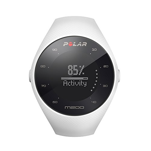 Polar M200 GPS Running Watch White