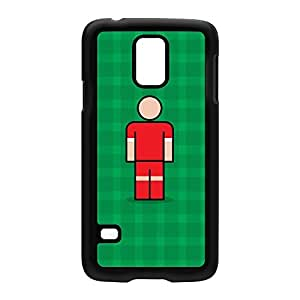Crawley Black Hard Plastic Case for Samsung? Galaxy S5 by Blunt Football + FREE Crystal Clear Screen Protector