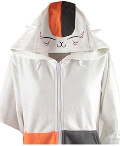 Natsume Yuujinchou Nyanko Sensei cosplay costume Black White Clothing Sweater 2 style - Sensei Costume Child