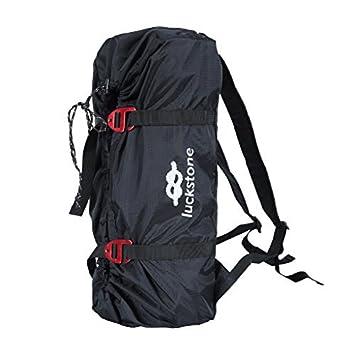 Mochilas Bolsa porta herramientas Almacenamiento Bolsa portacorda para escalada sobre roca Mochila plegable, negro: Amazon.es: Deportes y aire libre