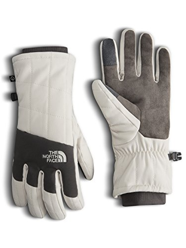The North Face Women's Pseudio Insulated Gloves - Rainy Day Ivory, s