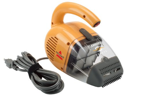 Bissell Cleanview Deluxe Corded Handheld Vacuum, - Held Vacuum Powerful Hand