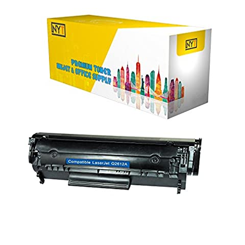New York Toner Compatible HP LaserJet 1012/1018/1020/1022/3015/3020/3030/3050/3052/3055/M1319f MFP Series Ultraprecise Print Cartridge (2 000 Yield) (232/Pallet), Hewlett Packard Q2612A