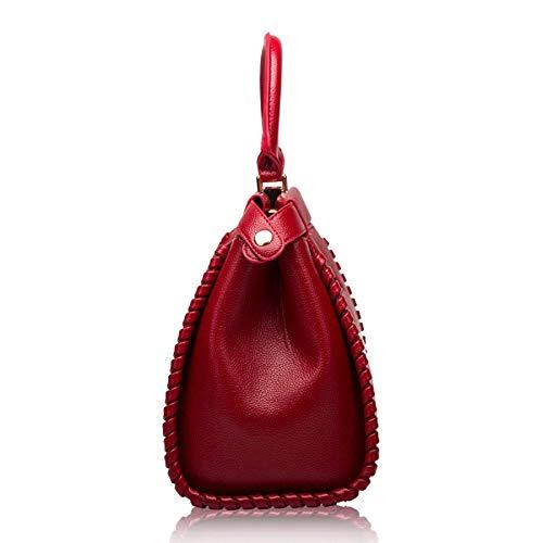 À Sacs De Polyvalents Bandoulière Mode Main Pour Dames Red OBqwfd