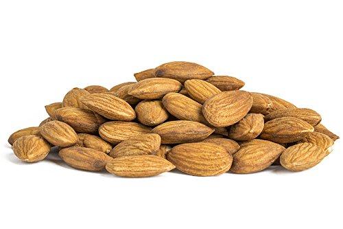 Hohoshi Supreme Whole Almonds, Raw and Unsalted, 3 Pound