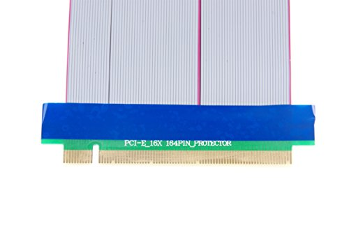 KNACRO PCI-E 16X Extension Cable 164-Pin Graphics Extension Cable External 12V Power Supply by KNACRO (Image #4)
