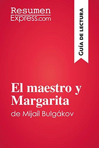 Amazon.com: El maestro y Margarita de Mijaíl Bulgákov (Guía ...