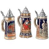 Kitchen & Housewares : Beer Stein Cutouts   (3/Pkg)
