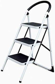 Taburete para Adultos Acero Pesado Escalera de 3 Escalones, Pedal Taburete para el Hogar Escalera Multifunción Antideslizante/B: Amazon.es: Bricolaje y herramientas