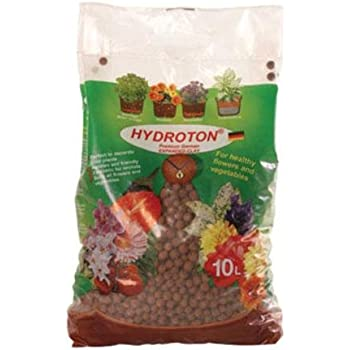 Hydroton GMHT10L Hydroponic Grow Rocks, 10 Liter Bag (Discontinued by Manufacturer)