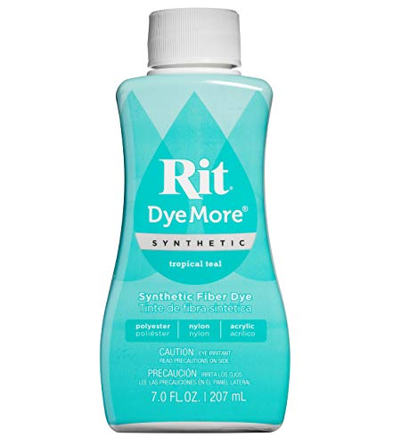 Rit Dyemore Synthetic Fiber Dye Tropical Teal (Tropical Teal)