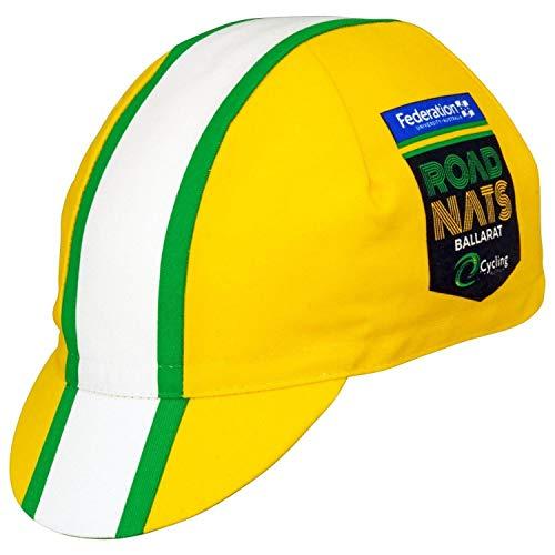 Santini Australian National Champion Cap - Gold/Green ()