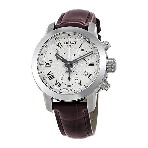 Tissot Women's T-Sport T055.217.16.033.01 Brown Leather Swiss Quartz Watch