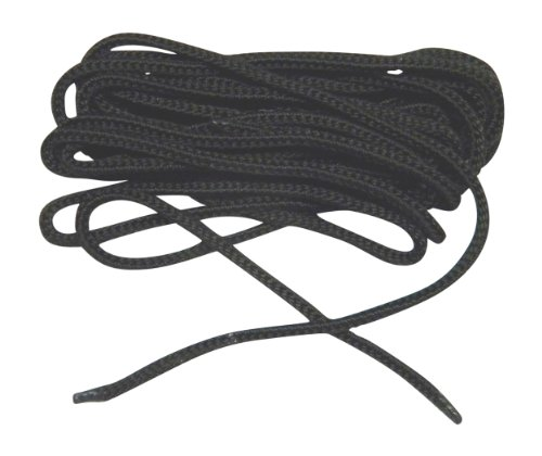 120 Inch USA Coal Black Nylon Speedlace Tactical Combat Boot Laces Shoelaces (2 pair pack)