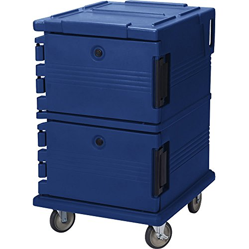 TableTop king UPC1200186 Navy Blue Camcart Ultra Pan Carrier - Front - Blue Camcart