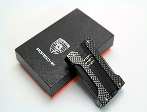 New High-grade Carbon Fiber TORCH JET FLAME CIGAR CIGARETTE LIGHTER Cohiba (Matte Black) (Carbon Cigar Lighter Fiber)