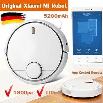 Original XIAOMI MI Robot Vacuum Cleaner Robot aspirador Barredora Blanco LDS 12 sensores 1 año garantía App control Envío desde de: Amazon.es: Electrónica