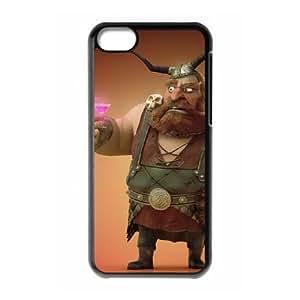 funny viking iPhone 5c Cell Phone Case Black xlb2-240439