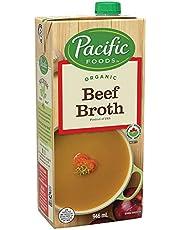 Pacific Foods Organic Beef Broth 946ml, Beef, 946 milliliters