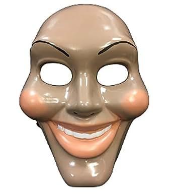 La Purga Original Cara Película Máscara - Disfraz de Halloween Disfraz - UNIVERSAL TALLA - plástico duro