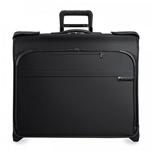 Briggs & Riley Baseline Deluxe Wheeled Garment Bag, Black, Small by Briggs & Riley