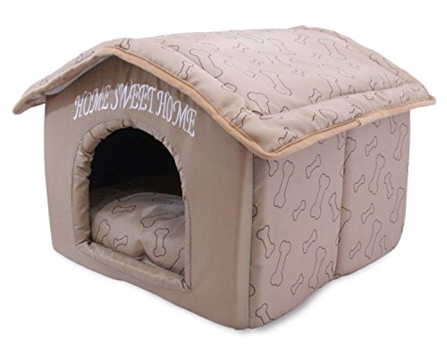 indoor-dog-house-kennel-plush-warm-portable-pet-bed-washable-small-puppy-cat