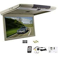 15 Display Overhead Monitor TFT Flip Down Car Monitor LED LCD Monitor Roof M...