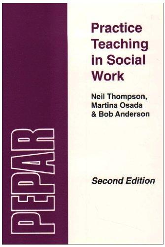 Practice Teaching in Social Work: A Handbook