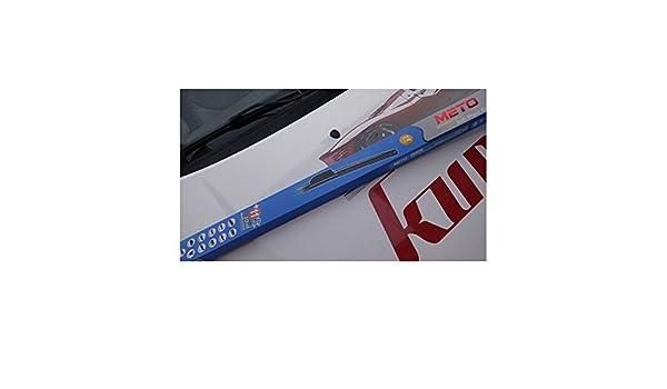 2 x Escobillas limpiaparabrisas flexibles de goma para coche Fiat Ducato. Juego delantero.: Amazon.es: Coche y moto