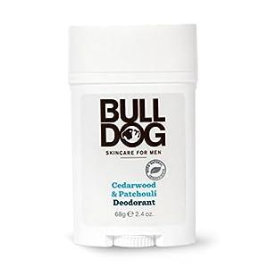 Bulldog Mens Skincare and Grooming Cedarwood Patchouli Deodorant, 2.4 Ounce