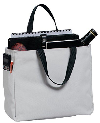 Port & Company luggage-and-bags Improved Essential Tote OSFA (Denier Polyester)