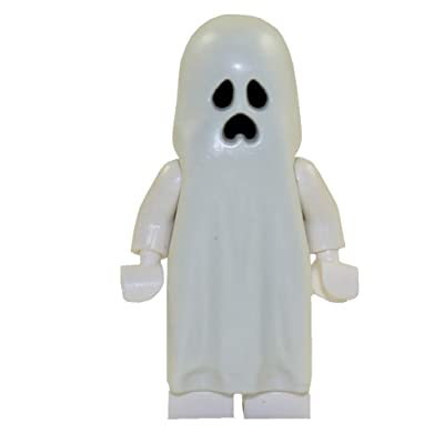 LEGO Monster Fighters Halloween Minifigure - Ghost (Glow In The Dark): Toys & Games