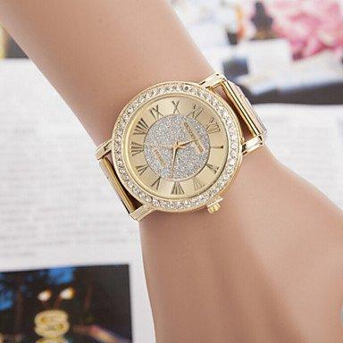 Las mujeres de aleación de relojes traje de el gran reloj de ...