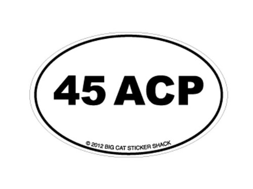 45 acp bumper stickers - 3