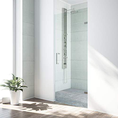 glass shower door 24 inch - 4