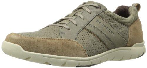 Rockport Men's TruWalk Zero III Sport MGD Walking Shoe,Taupe,10.5 M US