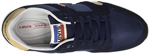 Levi's Sutter 17 Baskets Homme navy Blue Bleu SSrpUR