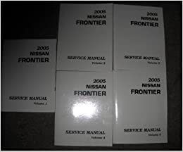 nissan frontier factory service manual