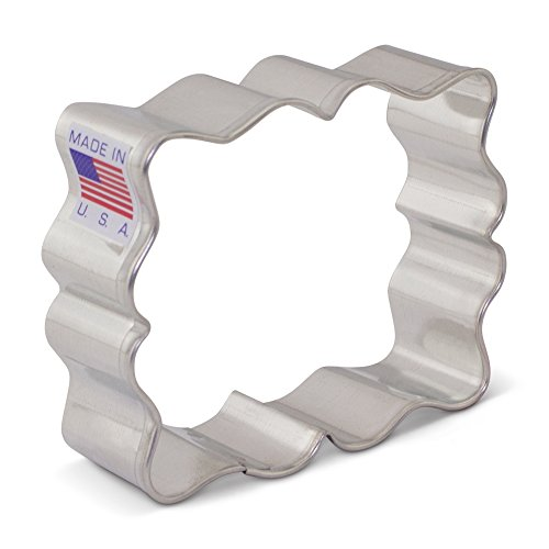 e /Frame Cookie Cutter by SweetAmbs - Ann Clark - 2.875 Inch - US Tin Plated Steel (Bridal Cookie Cutters)
