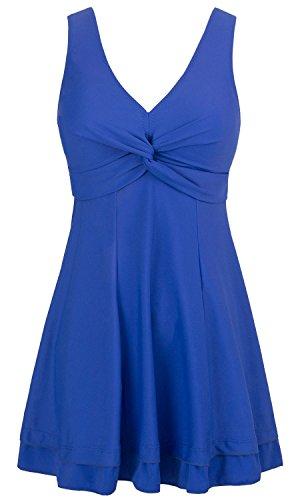 Wantdo Women's One Piece Cover Up Swimsuit Dress Swimwear Beachwear Plus Size