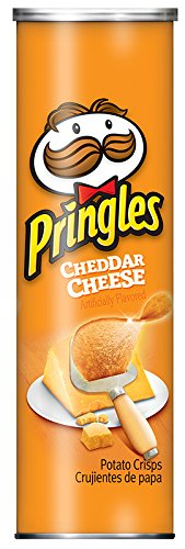 Pringles Cheddar Cheese Potato Crisps, 5.5 Ounce