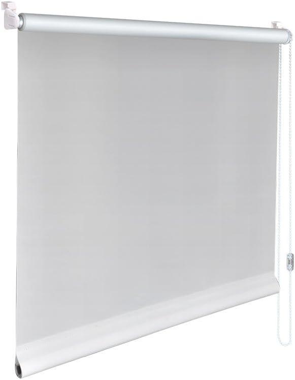 Mini-Rollo Klemmfix Klemmrollo Easyfix Sichtschutz Höhe 60 cm weinrot