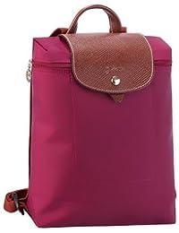 Longchamp Le Pliage Backpack Color Cyclamen Pink