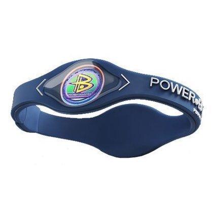 (Power Balance Bracelet Navy Blue/ White Letters Size Small by Power Balance)