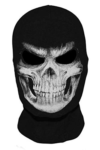 New Skull Ghost X-Men Deadpool Punisher Grim Reaper Balaclava Tactical Halloween Costume Full Face Mask]()